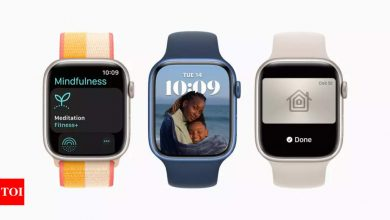 watchos 8:  Apple rolls out watchOS 8: Here are the new features - Times of India