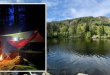 'Be prepared': Wild camper's top tips – 'you never know what's going to happen'