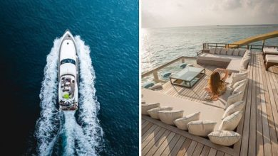 'I hide it so the wife doesn't see it' - Stewardess unveils secret of living in superyacht